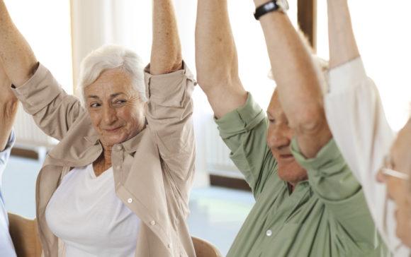 Mantener la movilidad fomentando el ejercicio en personas mayores