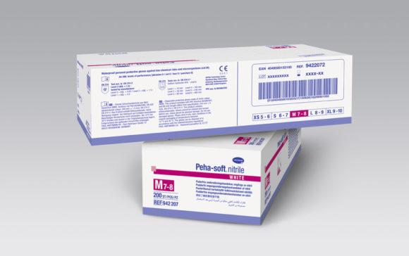 Guantes de exploración para la colocación de absorbentes