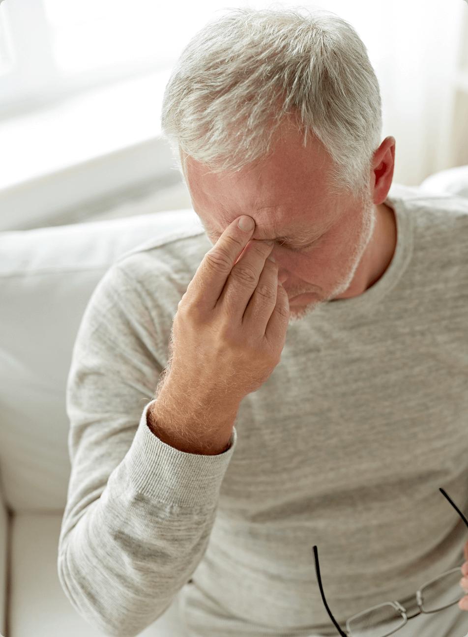 Cuidar de alguien está afectando tu salud